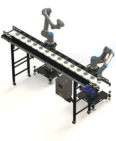 Cobot ready conveyor