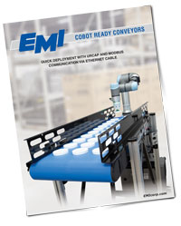 EMI Cobot Ready Conveyor Brochure