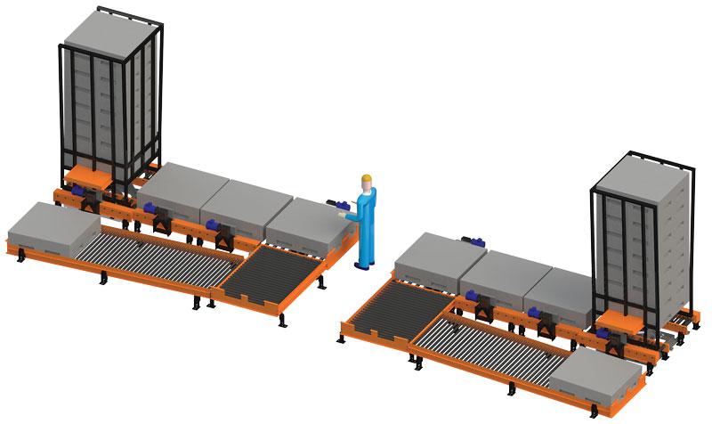 Powered Roller Conveyor Parts Roller Conveyor Warehousing