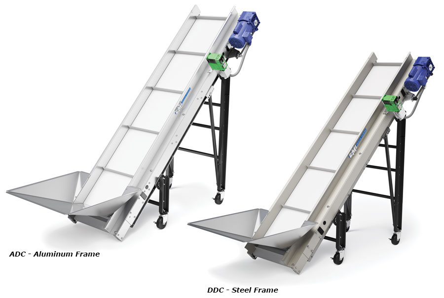 inclined belt conveyor Incline conveyor automation series capable of inclines up to 75°, these conveyors are ideal for any incline conveyor application available with cleated belts to ensure positive part movement.