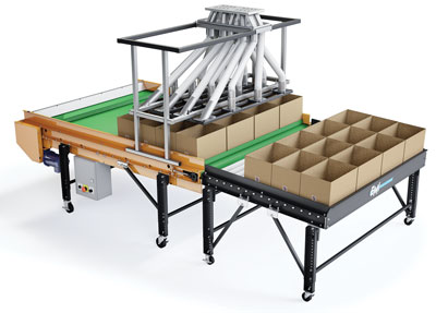 Robotic Indexing Control Conveyor Systems