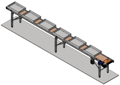 rope belt conveyor