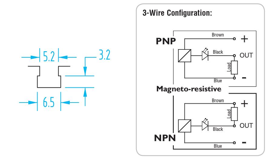 792 Gimatic TSlot    PNP    3   Wire       Sensor     SL4N225Y