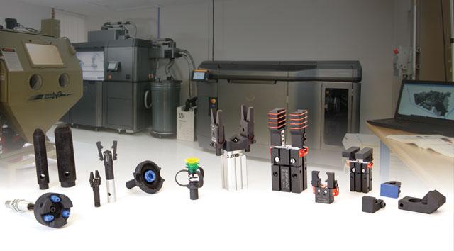 EMI 3D printed components