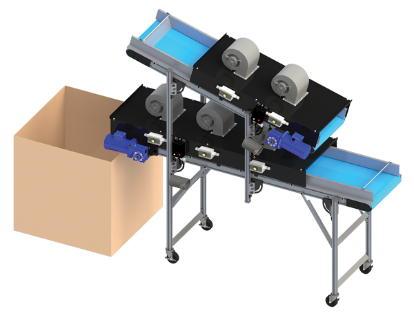 Ambient Air Cooling conveyor